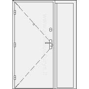 Šarvuotos buto durys su šaliduriu